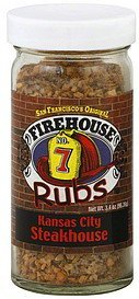 rub kansas city steakhouse Firehouse Nutrition info