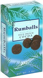 rumballs Simply Grand Nutrition info