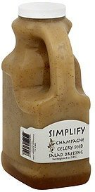 salad dressing champagne celery seed Simplify Nutrition info