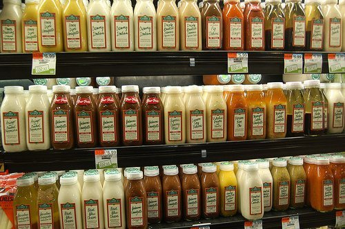 salad dressing, french dressing, reduced calorie usda Nutrition info