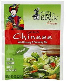 salad dressing & seasoning mix jaden chinese The Chef in Black Nutrition info