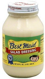 salad dressing Best Maid Nutrition info