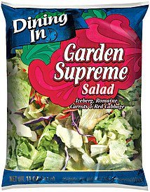 salad garden supreme Dining In Nutrition info