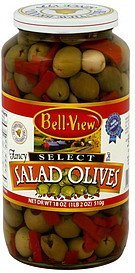 salad olives Bell View Nutrition info