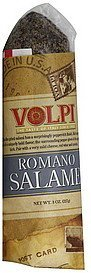 salame romano Volpi Nutrition info