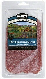 salami dry, uncured Busseto Nutrition info