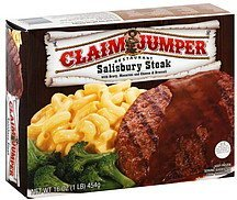 salisbury steak Claim Jumper Nutrition info