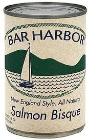 salmon bisque new england style Bar Harbor Nutrition info