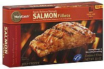 salmon fillets smoky barbecue marinade WorldCatch Nutrition info
