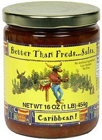 salsa caribbean Better Than Freds Nutrition info