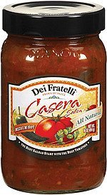 salsa casera medium hot Dei Fratelli Nutrition info