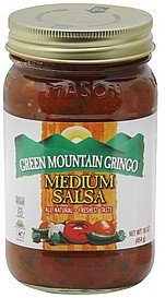salsa medium Green Mountain Gringo Nutrition info