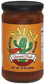 salsa medium Cascade Pride Nutrition info