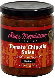salsa tomato chipotle, medium Rosa Mexicano Kitchen Nutrition info