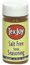 salt free steak seasoning TexJoy Nutrition info