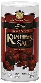 salt kosher Diamond Crystal Nutrition info