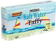 salt water taffy assorted flavors Melster Nutrition info