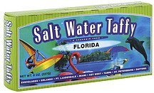salt water taffy Florida Resorts Nutrition info