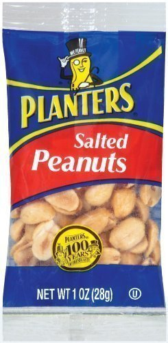 salted peanuts Planters Nutrition info