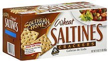 saltine crackers wheat Southern Home Nutrition info