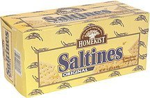 saltines original Homekist Nutrition info