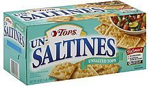 saltines unsalted Hy Tops Nutrition info