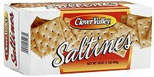 saltines Clover Valley Nutrition info