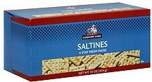 saltines Midwest Country Fare Nutrition info
