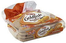 sandwich bread soft, honey whole wheat Goldfish Nutrition info