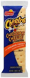 sandwich crackers cheddar cheese Cheetos Nutrition info