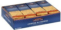 sandwich crackers cheese & cheese Midwest Country Fare Nutrition info