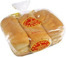 sandwich rolls Franco French Nutrition info
