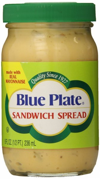 sandwich spread Blue Plate Nutrition info
