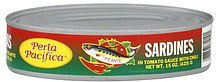 sardines picante, in tomato sauce with chili Perla Pacifica Nutrition info