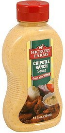 sauce chipotle ranch Hickory Farms Nutrition info