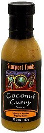 sauce coconut curry Starport Foods Nutrition info