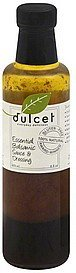 sauce & dressing essential balsamic Dulcet Nutrition info