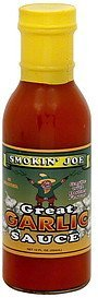 sauce great garlic Smokin' Joe Nutrition info