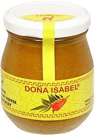 sauce hot pepper Dona Isabel Nutrition info