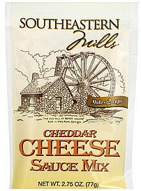 sauce mix cheddar cheese Southeastern Mills Nutrition info