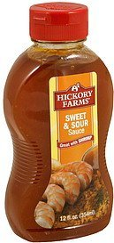 sauce sweet & sour Hickory Farms Nutrition info