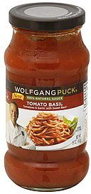 sauce tomato basil Wolfgang Puck	 Nutrition info