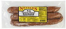 sausage country smoked Nettles Nutrition info