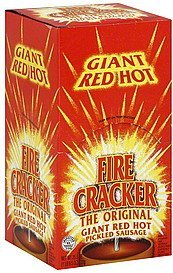 sausage pickled, giant red hot Fire Cracker Nutrition info
