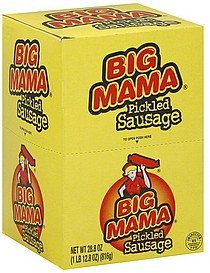 sausage pickled Big Mama Nutrition info
