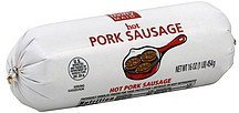 sausage pork, hot Thrifty Maid Nutrition info