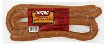 sausage smoked, hot & spicy Bryan Nutrition info