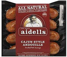 Calories in Aidells Sausage smoked pork, cajun style andouille