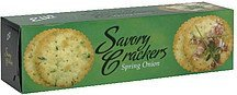savory crackers spring onion Elki Nutrition info