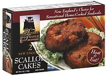 scallop cakes new england Yankee Trader Seafood Nutrition info